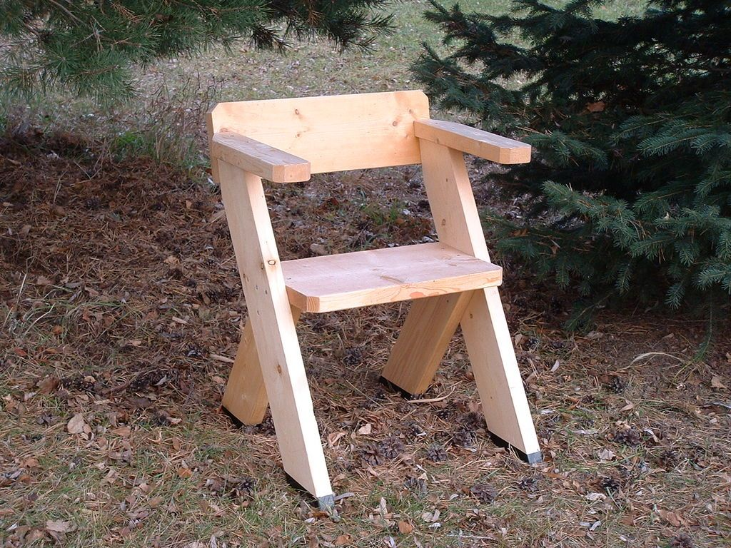 A Chair For The Great Outdoors Sillas Woodworking