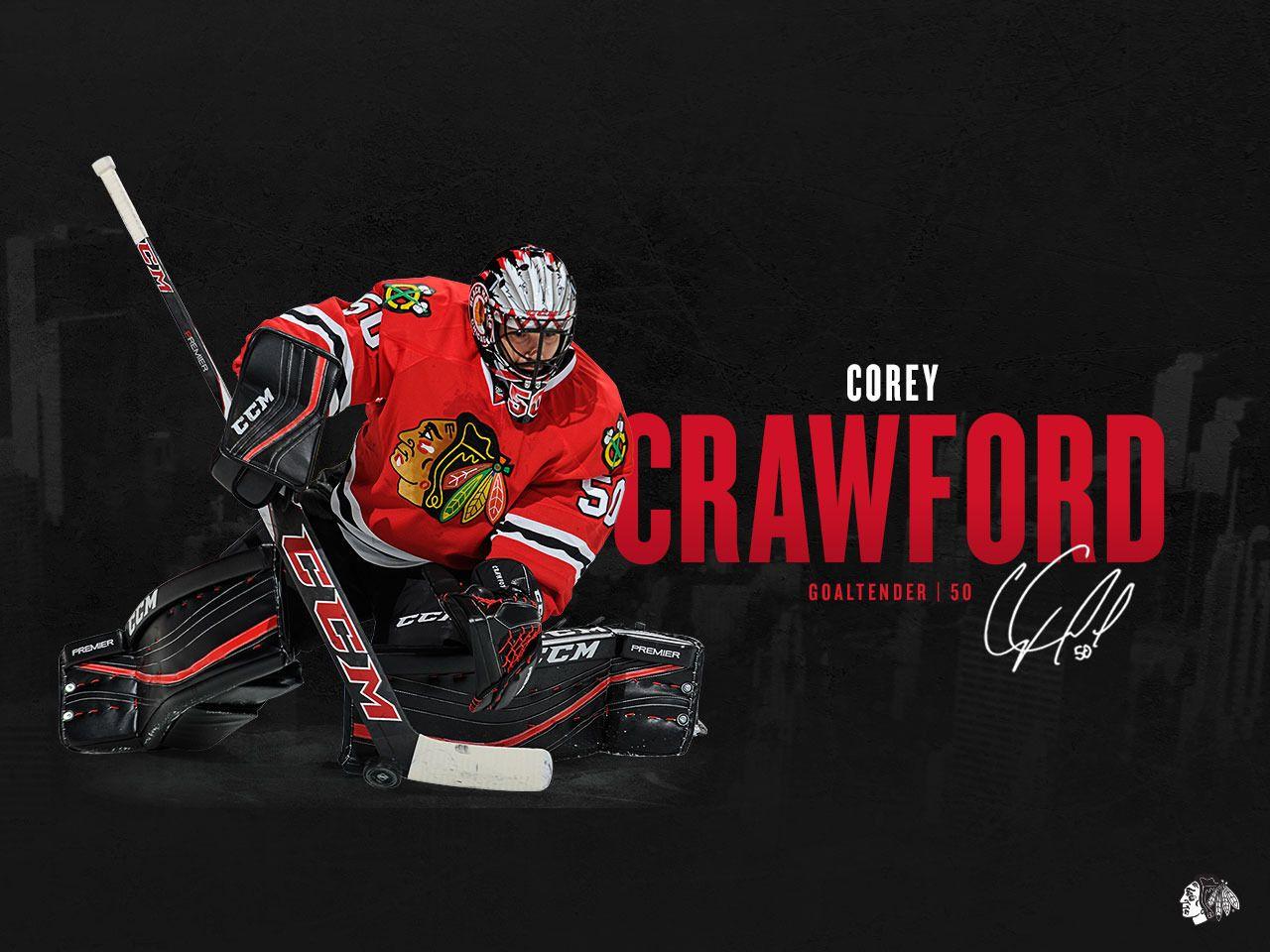 Corey Crawford Crow 50 Blackhawks Chicago Blackhawks Wallpaper Chicago Blackhawks Hockey Blackhawks