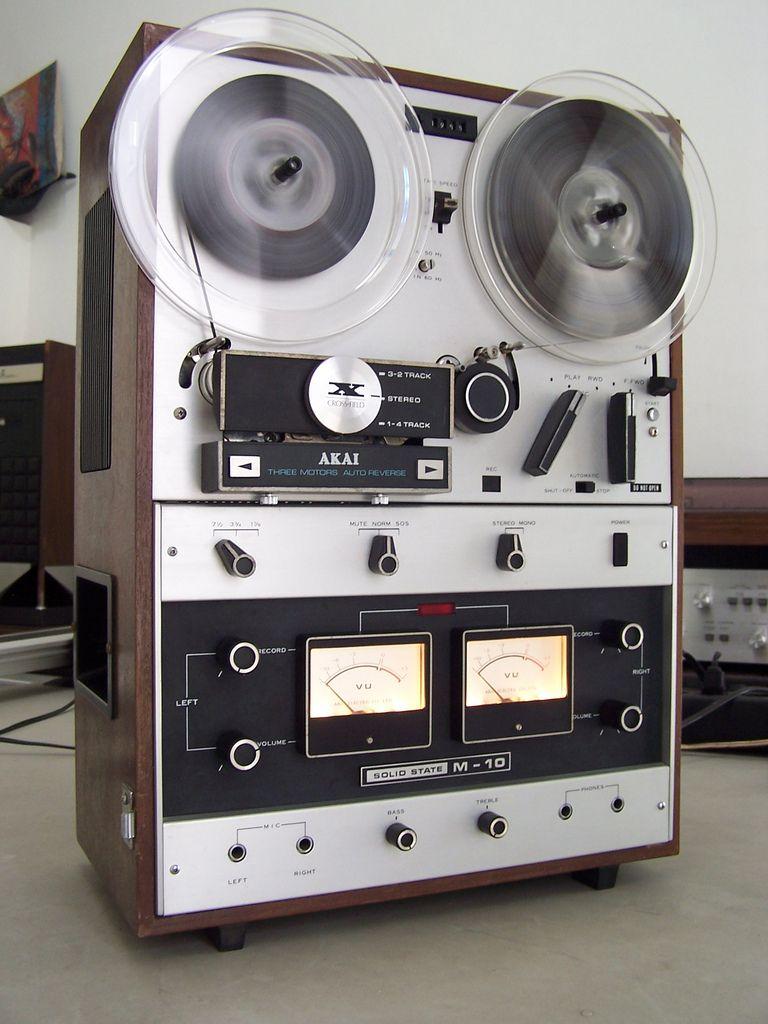 Akai M 10 reel to reel Tape recorder, Hifi audio, Audio
