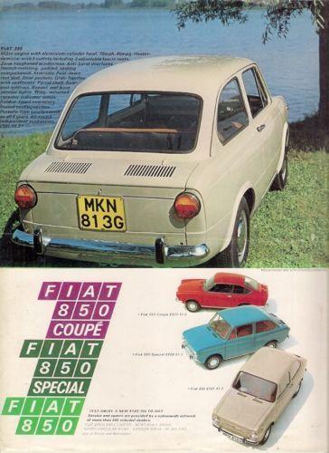 Pin On Fiat 850