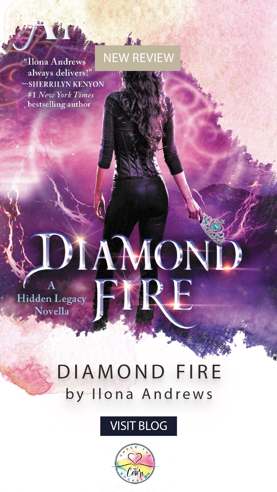 ARC Review: Diamond Fire by Ilona Andrews | AWESOME BLOG