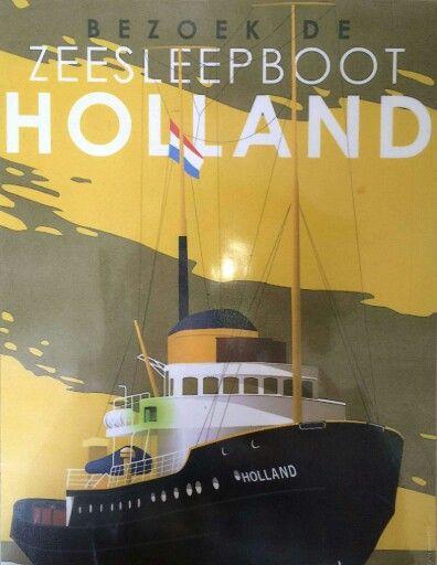 Sleepboot de Holland