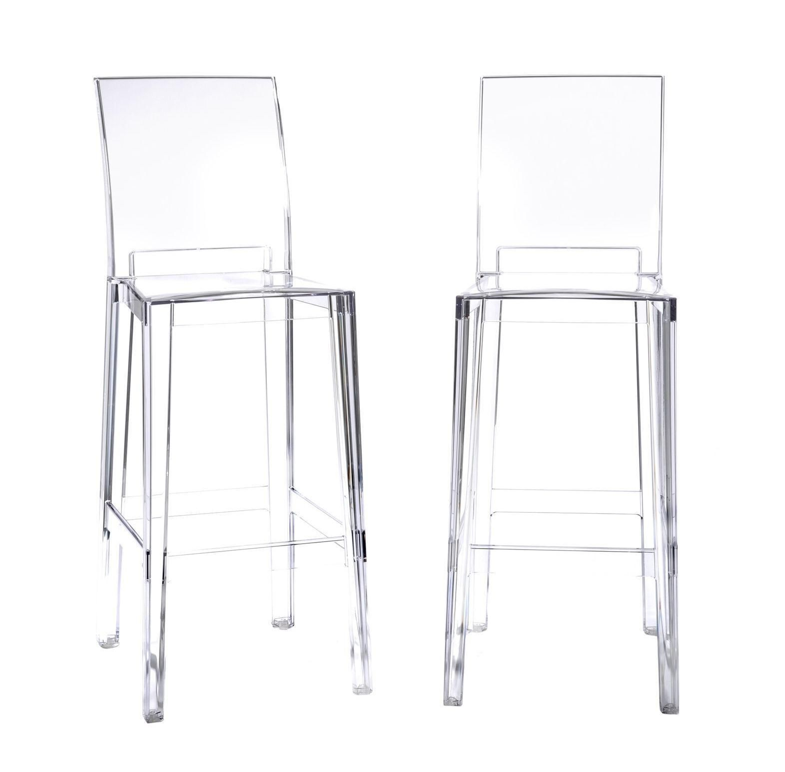 Ghost Chair Bar Stool White Plastic Chaise Lounge Chairs 77 Diy Modern Furniture Check More At Http