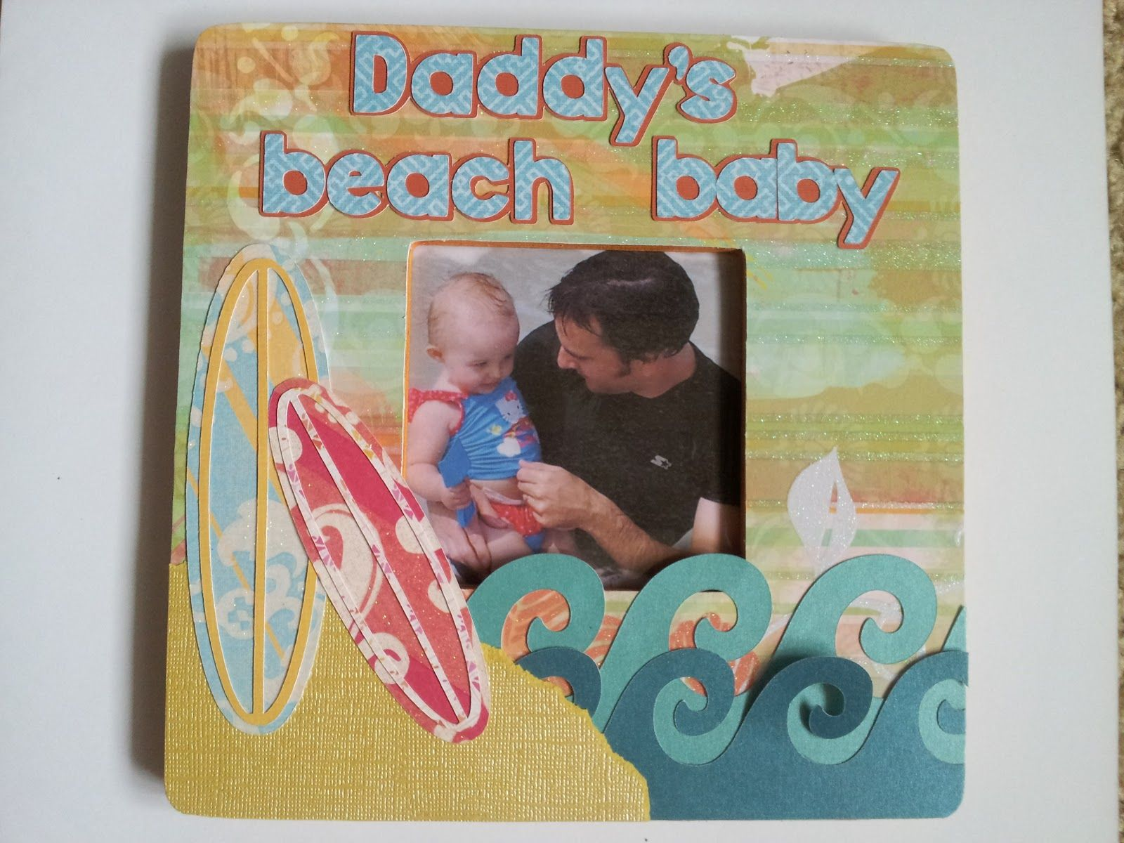 Sugar Plum Cottage Crafts: Beach Photo Frame
