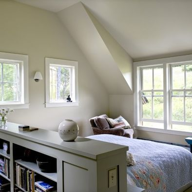 Attic Bedroom Design Ideas Pictures Remodel And Decor Remodel Bedroom Bed In Middle Of Room Apartment Bedroom Decor