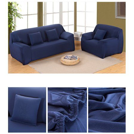 Superb Sofa Covers Elastic Anti Wrinkle Couch Covers Solid Color Machost Co Dining Chair Design Ideas Machostcouk