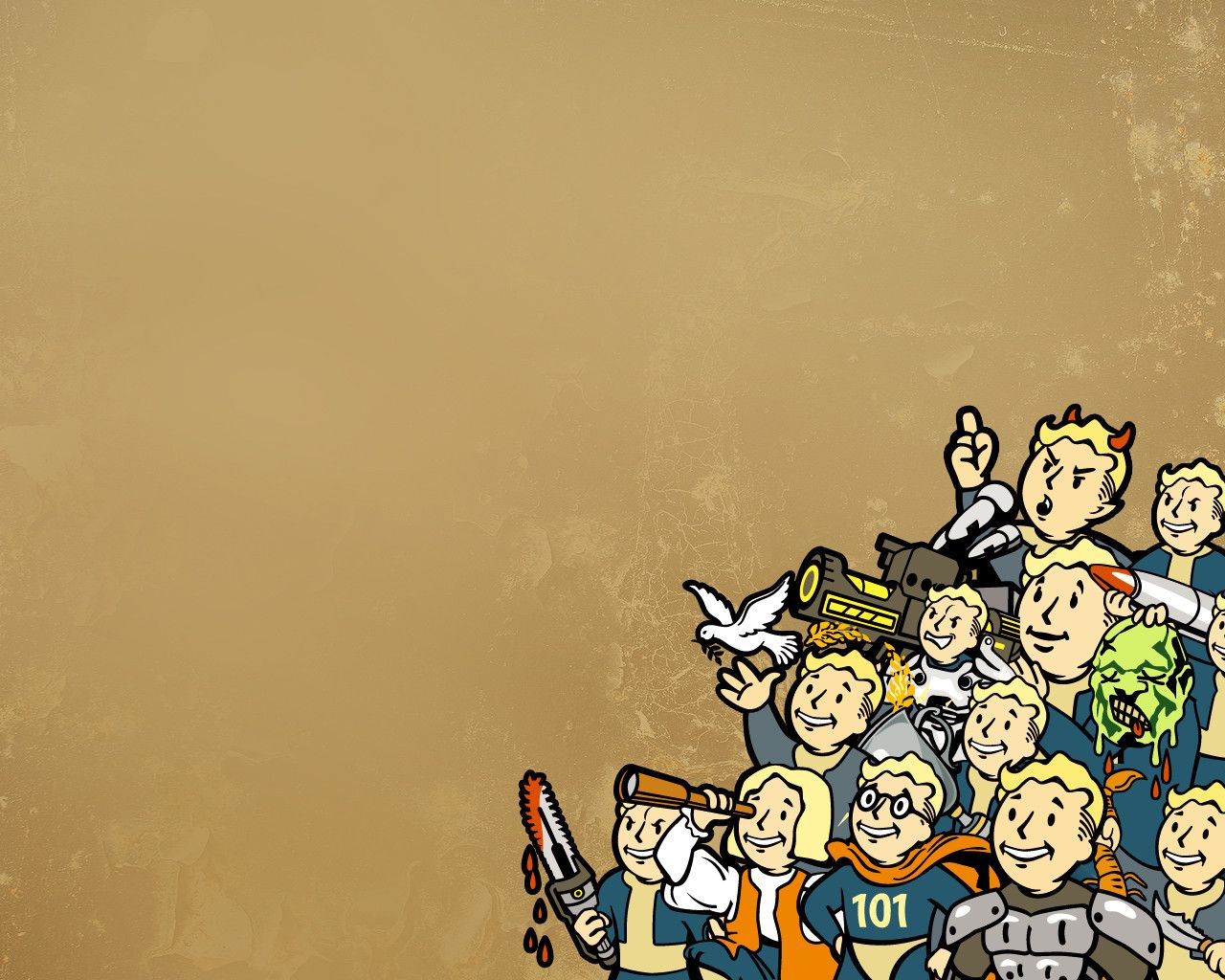 Download Fallout vault boy Wallpaper for Lumia Phone