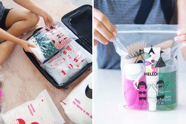 30 Super Efficient Ways to Pack Your Stuff via Brit + Co