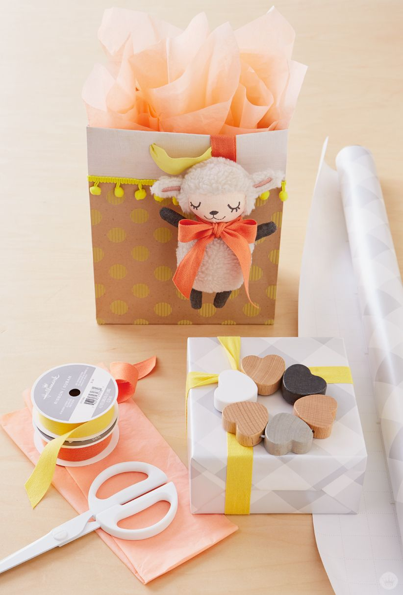 Uncategorized Wrap A Sweet baby gift wrap ideas showered with love