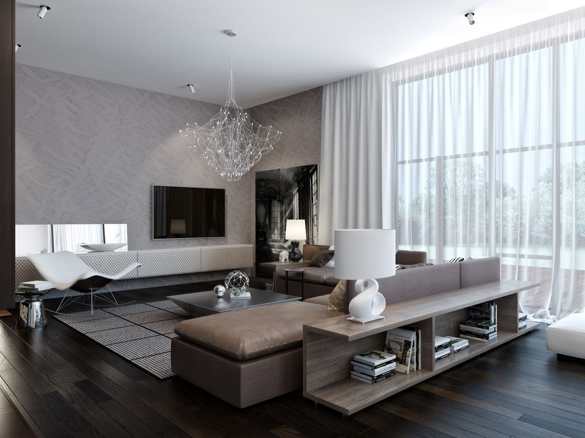 Designing Living Rooms Stunning Modern Neutral Living Room 1 Only More Grey And Less Brown Inspiration
