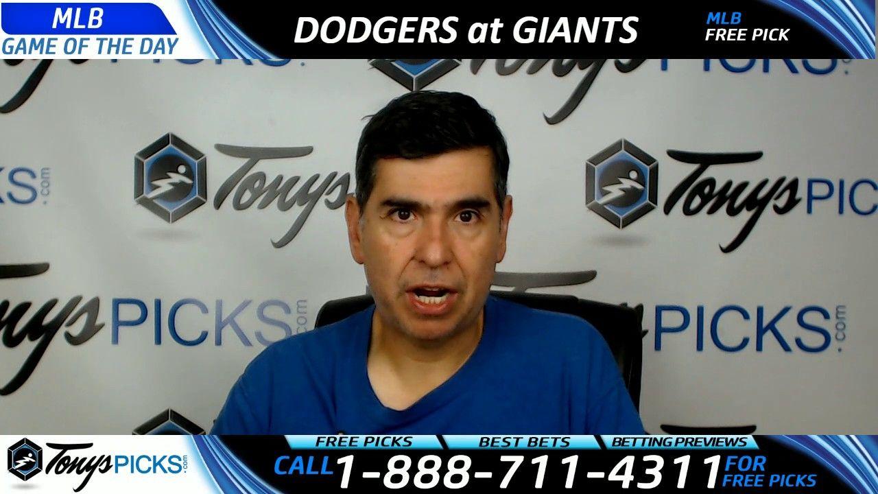 La dodgers vs san francisco giants free mlb baseball