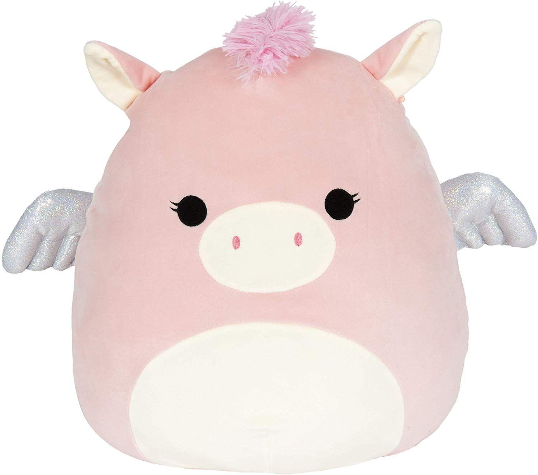 Amazon Com Squishmallow 16 Pegasus Toys Games Fluffy Stuffed Animals Animal Pillows Animal Plush Toys