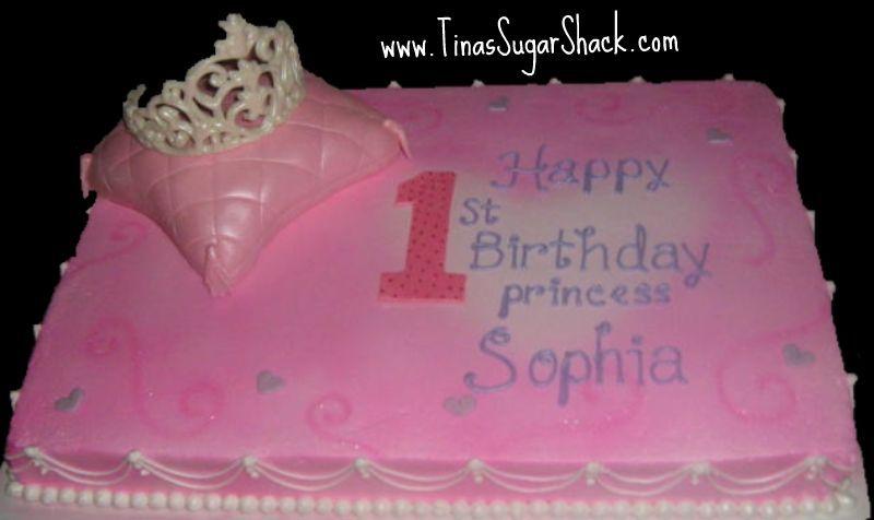 1st Birthday Princess Sheet Cake Melissa Pinterest Birthday