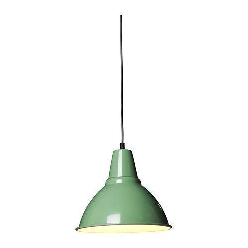 Ikea Red Chandelier: IKEA FOTO Pendant Light Lamp Shade Dome Green Beige Red