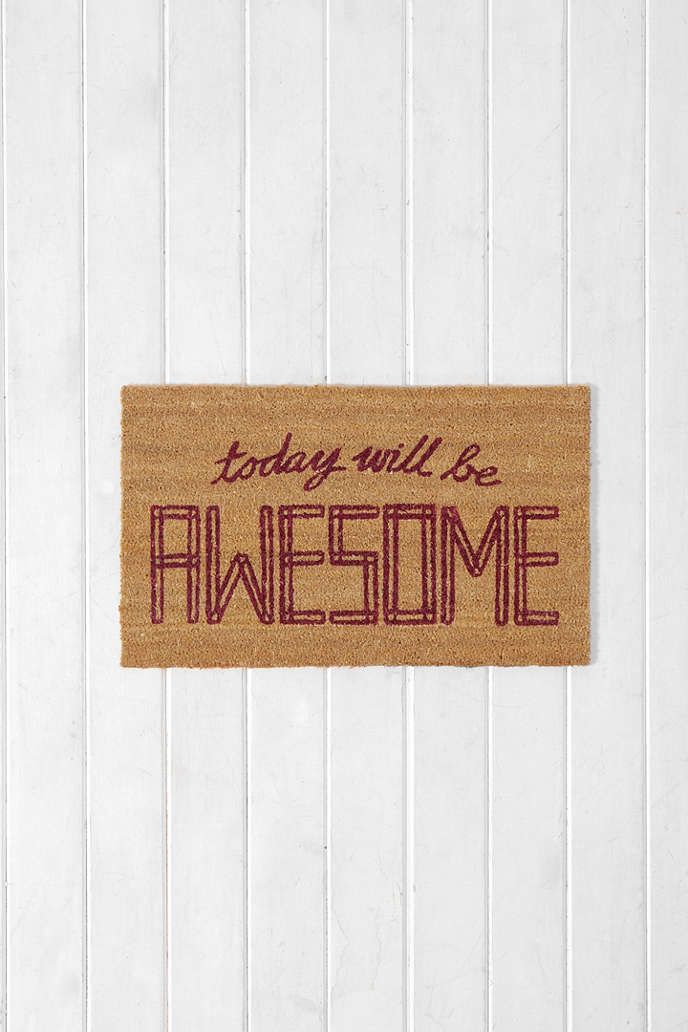 Awesome Door Mat - Urban Outfitters