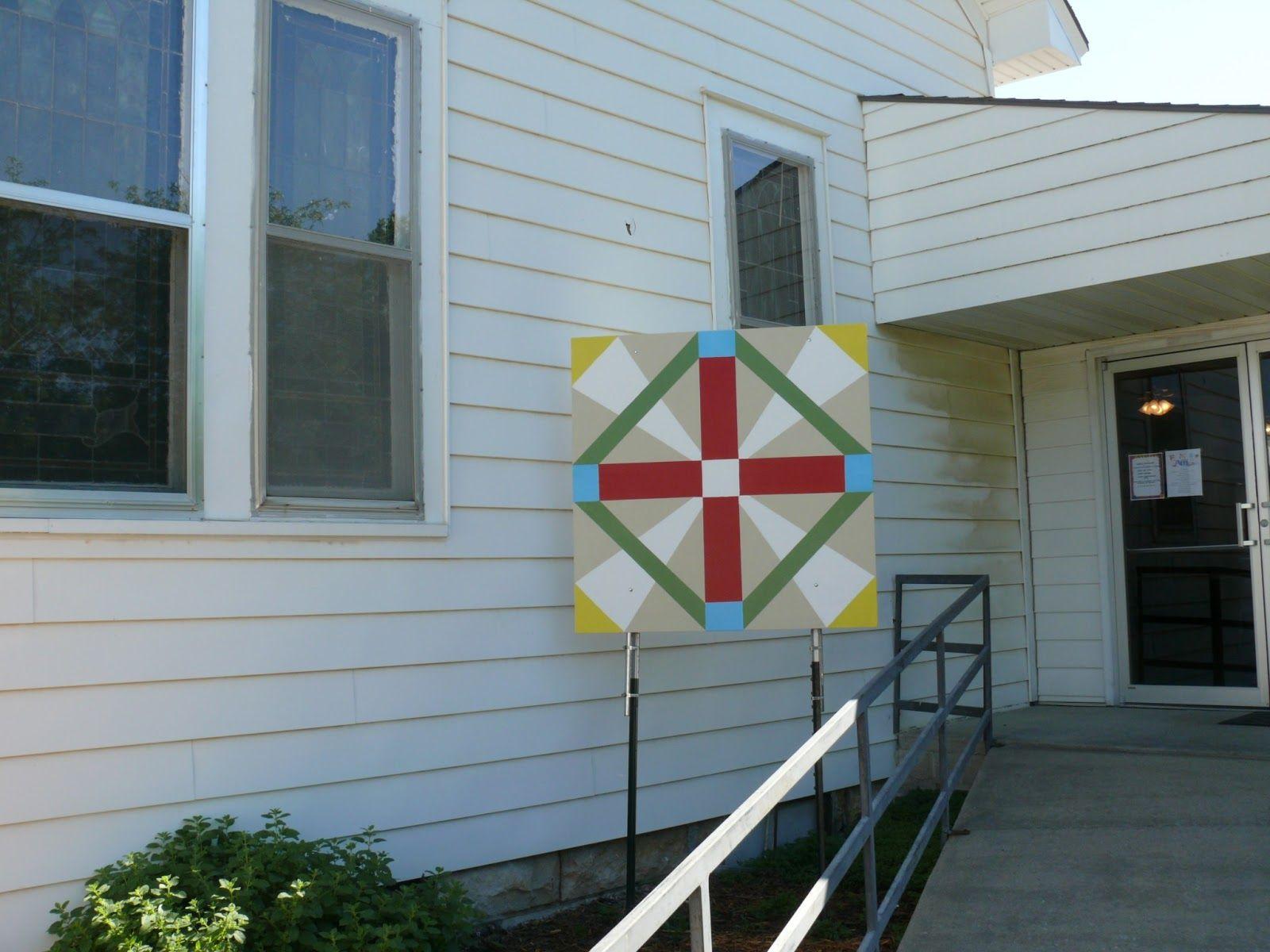 Kansas morris county dwight - Kansas Flint Hills Quilt Trail Morris County God Loves Dwight United Methodist