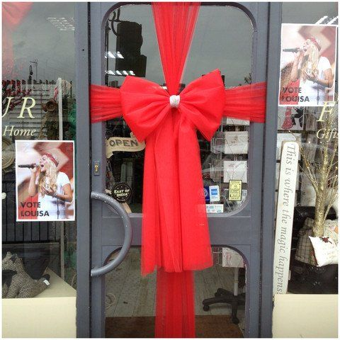 Beat the rush and order your #Christmas door bow now ! // & Beat the rush and order your #Christmas door bow now ! https://www ...