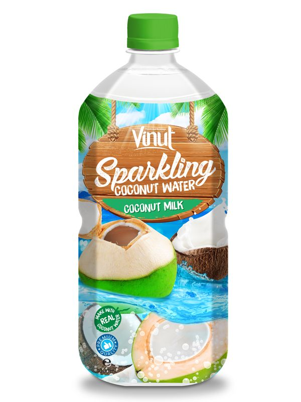 Oem Sparkling Water 1l Pet Bottle Original Sparkling Coconut Water With Milk Flavour Oem Beverage Manufacturers Nfc 음료