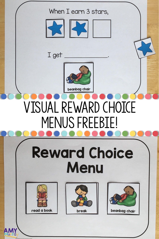 Free Visual Reward Charts Reward Chart Kids Classroom Reward Chart Preschool Behavior