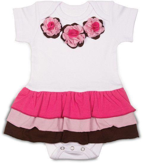 Strawberry Sundae Onesie Dress