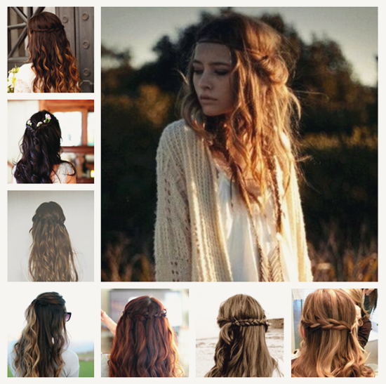 DIY Daily Hairstyles with Wavy Hair Extensions - | Daily hairstyles ...