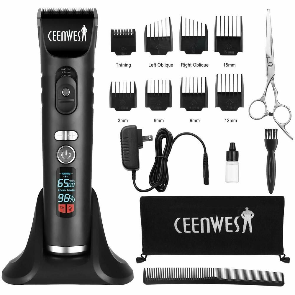 Ceenwes Professional Hair Trimmer Cordless Hair Clippers