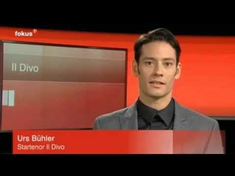 Il Divo - Urs Buehler - Interview Tele1