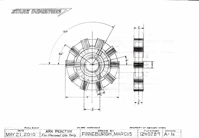Plano para el reactor arc blueprint pinterest reactor arc y planos plano para el reactor arc malvernweather Choice Image