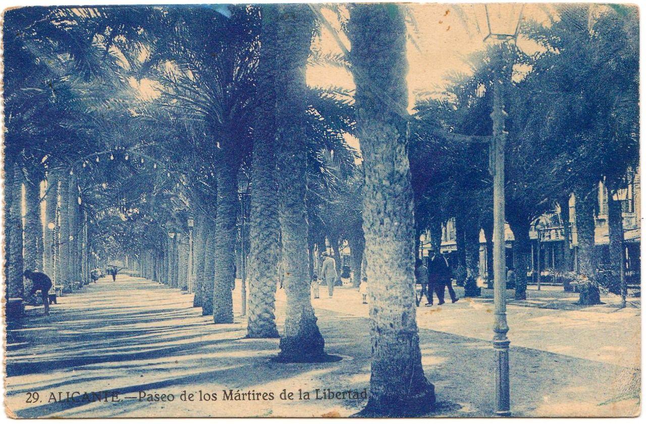 Atelier Jen — Vintage postcard - Alicante