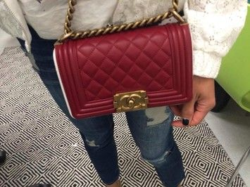 48664ca3276 Chanel BOY! Chanel Le Boy bag. If you re lucky enough to get a hand-me-down  Chanel anything