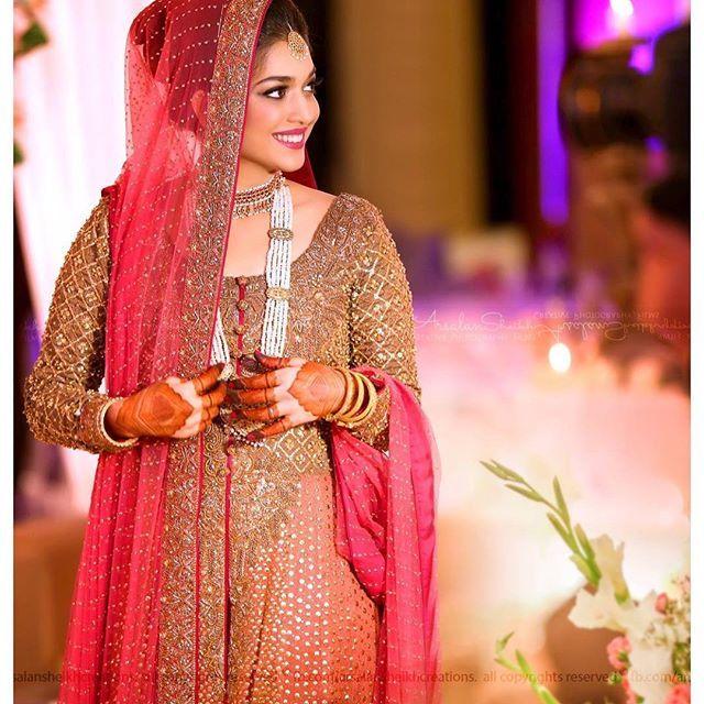 Sanum Jung Wedding Pictures Sanamjung Muslimah Wedding Dress Muslimah Wedding Bridal Dresses