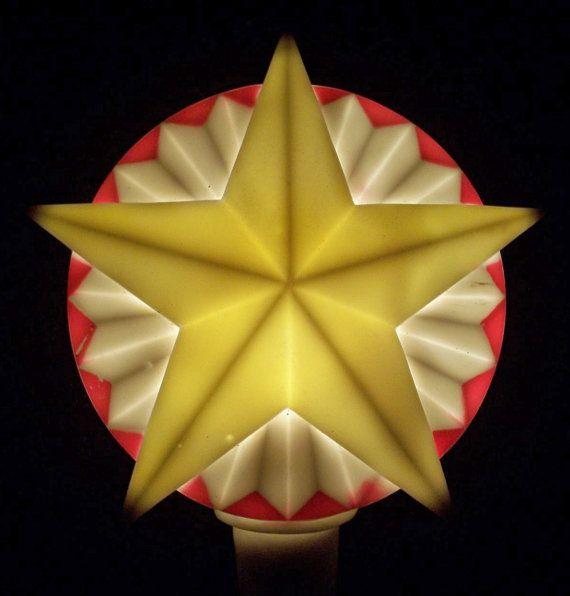 Noma Christmas Decorations: Vintage NOMA Canada Christmas Lights SOFT PLASTIC Tree By