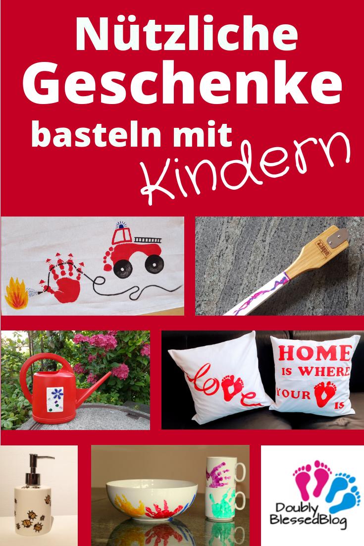 Nützliche Geschenke basteln mit Kindern #geschenkefürmännergeburtstag