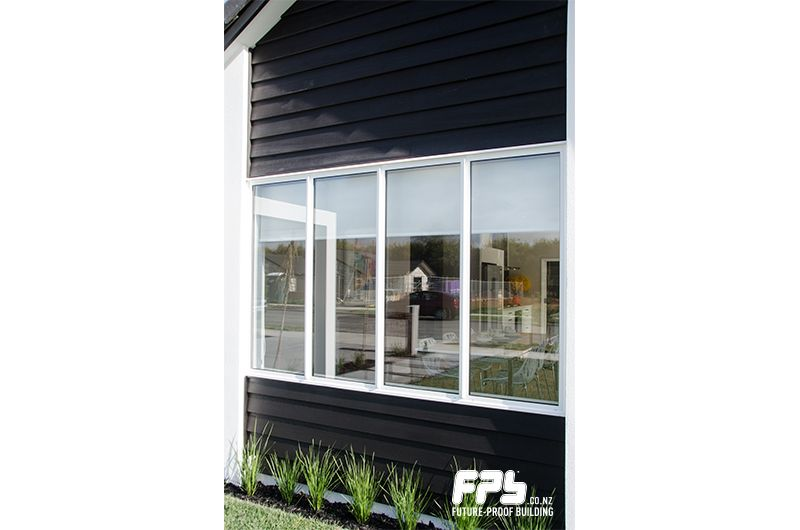 Weatherboard Cladding With Aluminium Joinery With Images