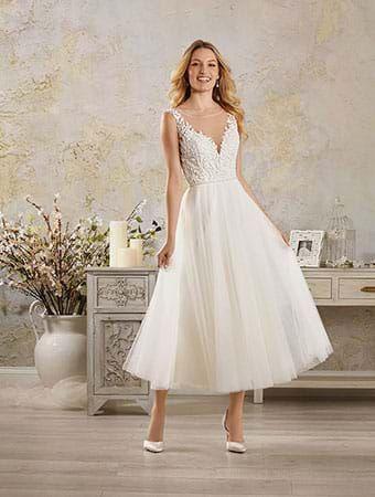 Alfred Angelo Tea Length Wedding Dresses