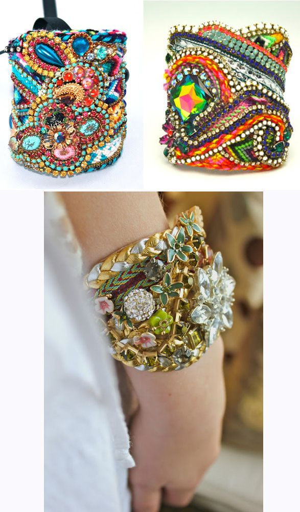 Repurpose Lot Of Woven Bracelets  Wear