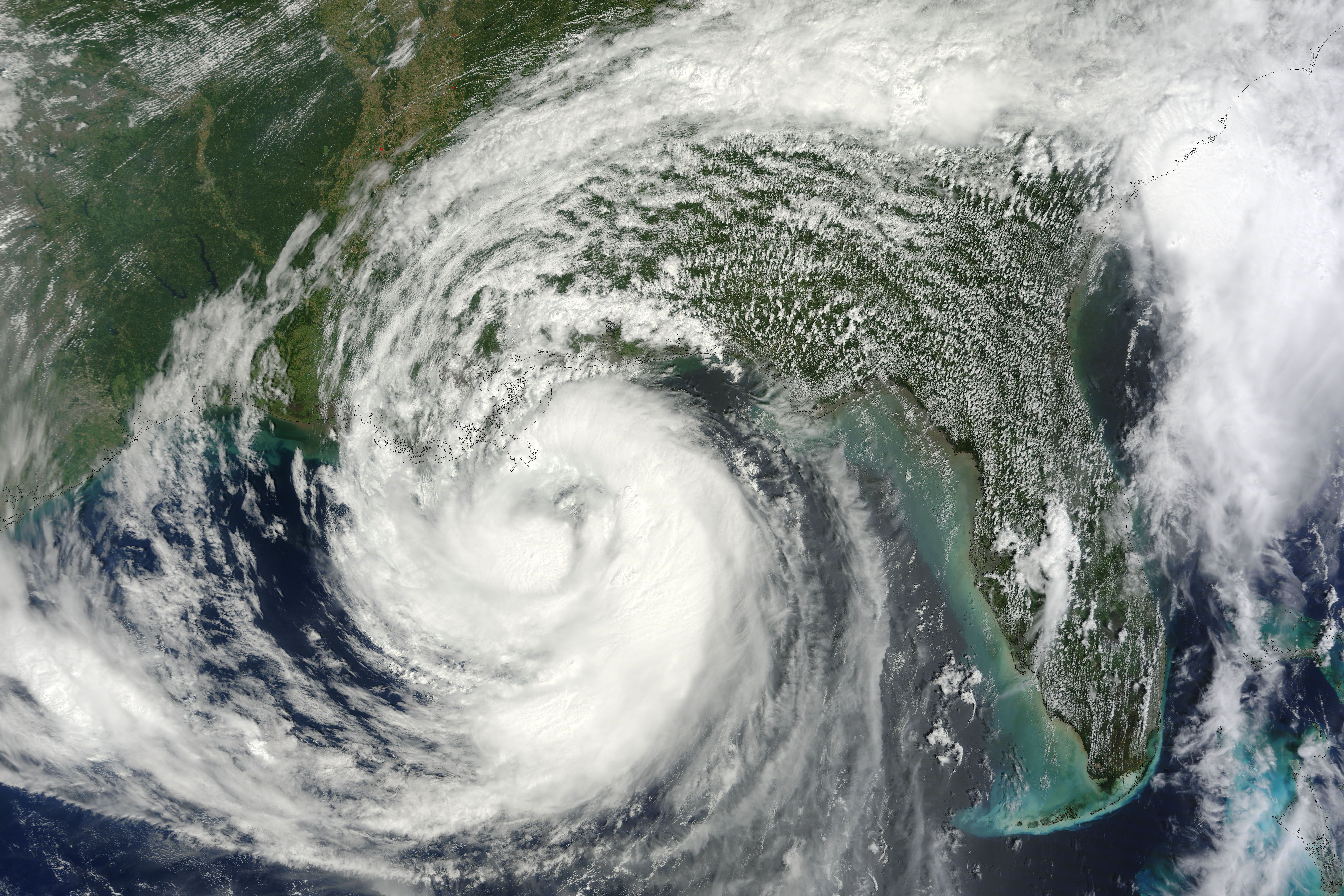 On August 28 2012 Tropical Storm Isaac Achieved Hurricane Force And Was Predicted To Make Landfall On The Gulf Coast Of Hurricane Season Nasa Earth Hurricane