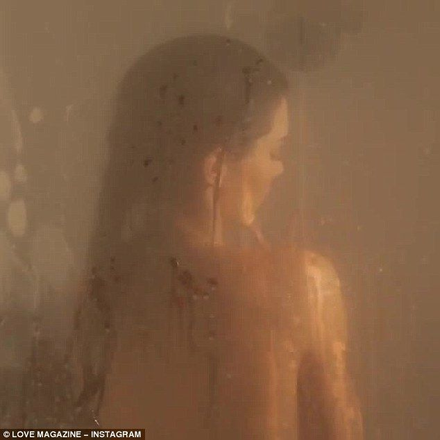 Girl Shower Scenes