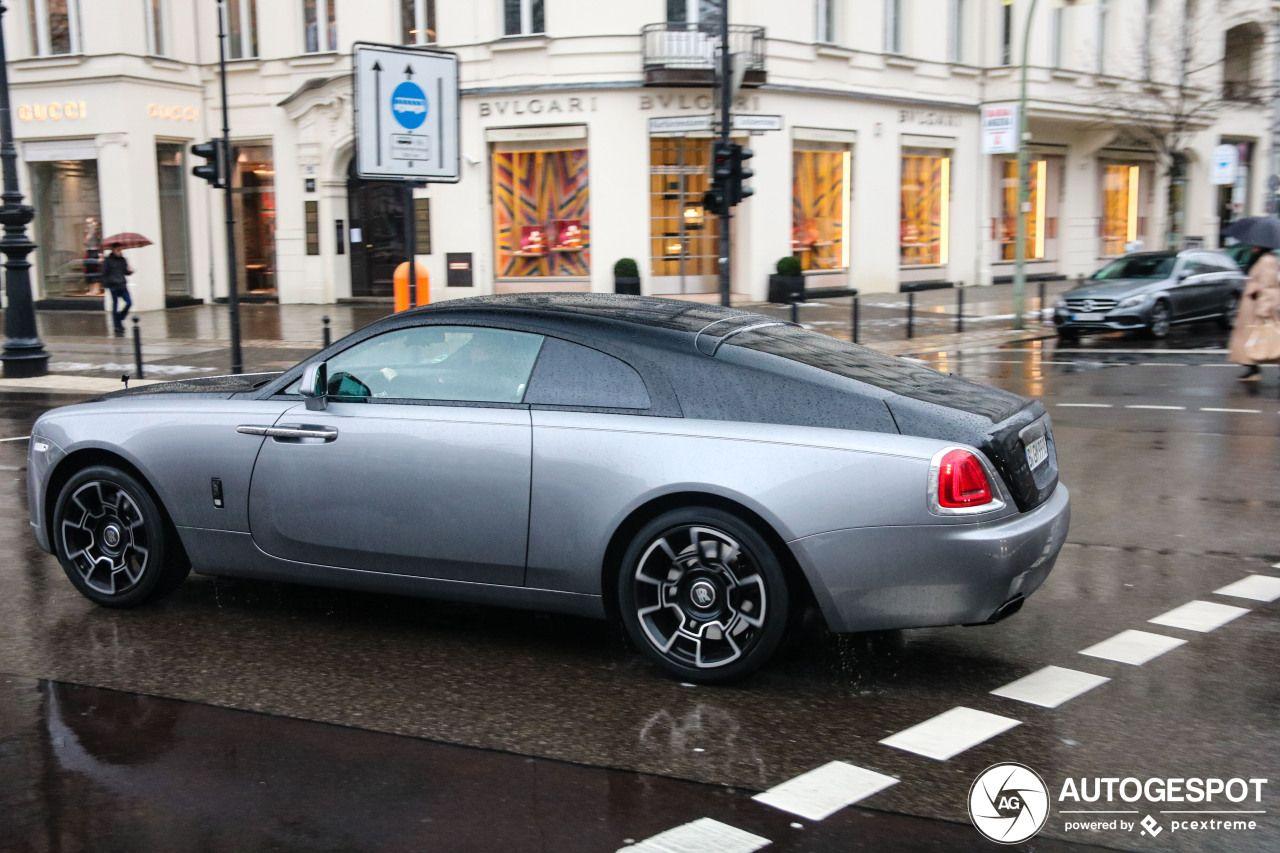 Rolls Royce Wraith Black Badge