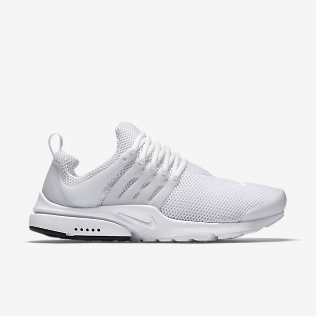 Nike Air Presto Mens Running Shoes 11 White Black 848132 100 in Clothing,  Shoes & Accessories, Men's Shoes, Athletic