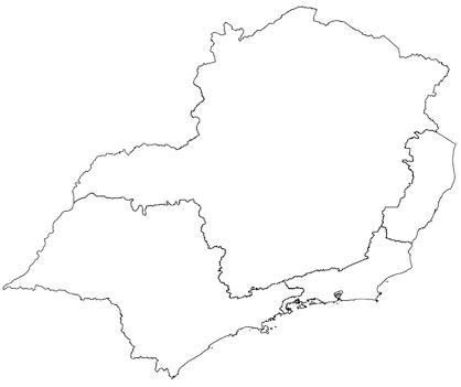 resultado de imagem para mapa do brasil dividido em regiões para