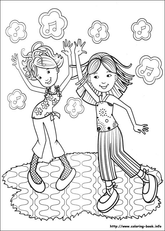 Groovy Girls coloring page | Coloring pages and Printables ...