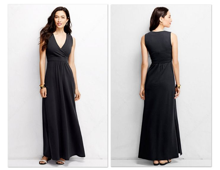 Lands' End Sleeveless Maxi Dresses