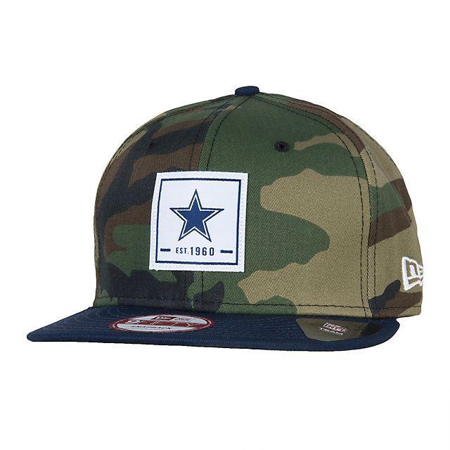 Dallas Cowboys New Era Patch Perfect 9Fifty Cap