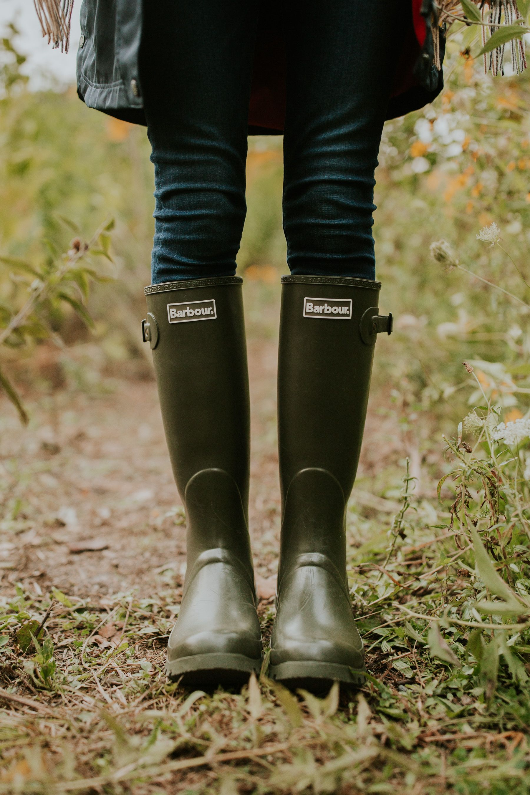 Boots, Barbour wellies