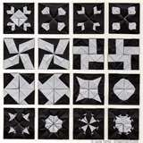 Image detail for -Origami Quilts - Double Windmill Module