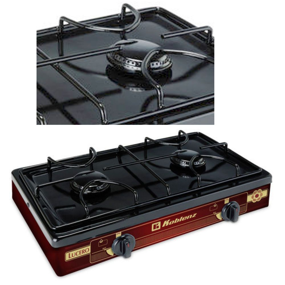 Outdoor Gas Stove Portable Camping Cooking Travel Cooktop Table Top 2 Burner Portable Cooktop Camp Cooking Camp Kitchen