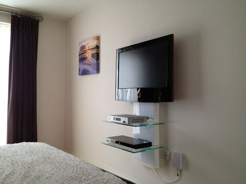 Tv Wall Mounting With Cable Management Gallery Av Installs Ltd Professional Audio Visual Installation S
