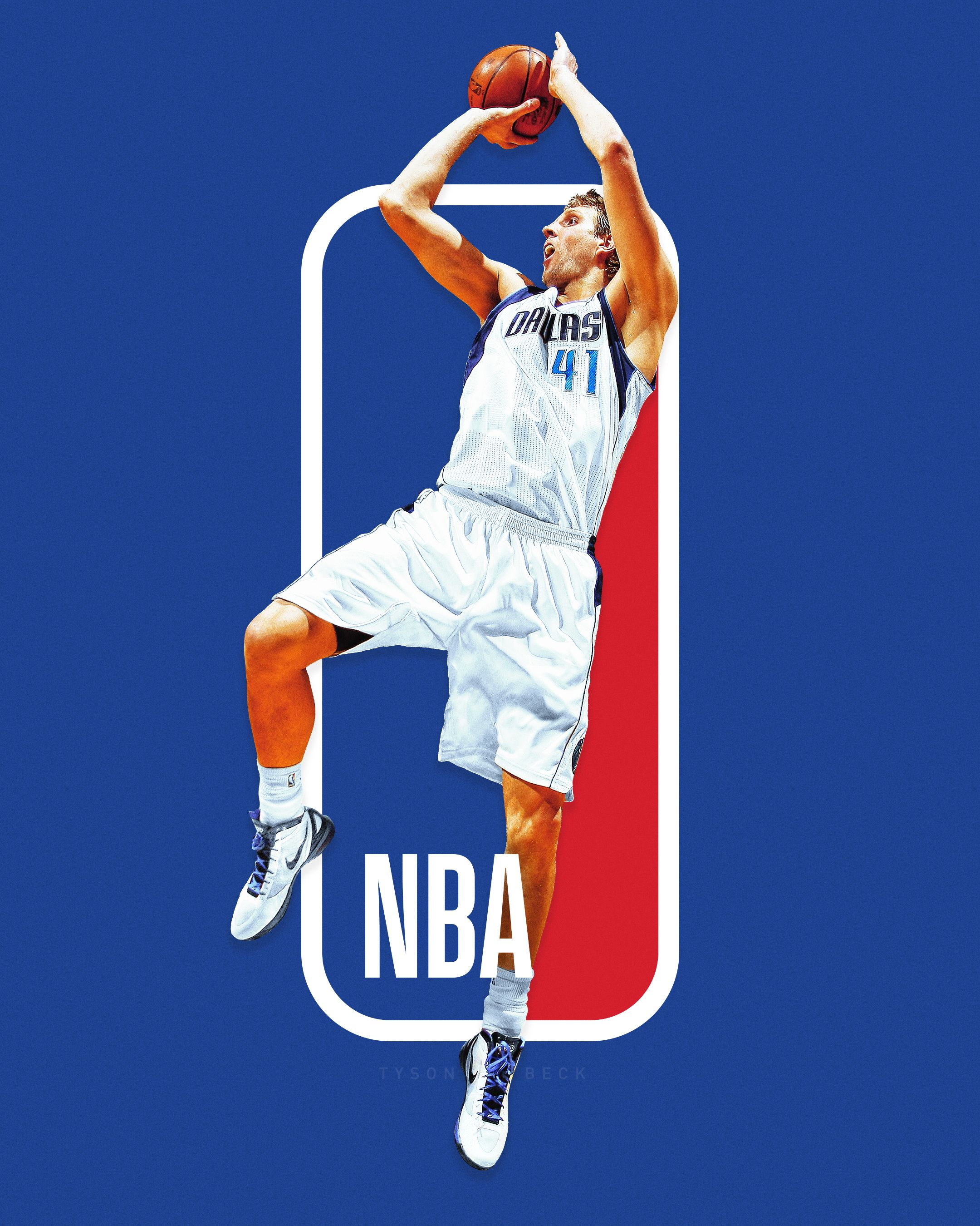 The Next NBA logo? NBA Logoman Series on Behance Nba