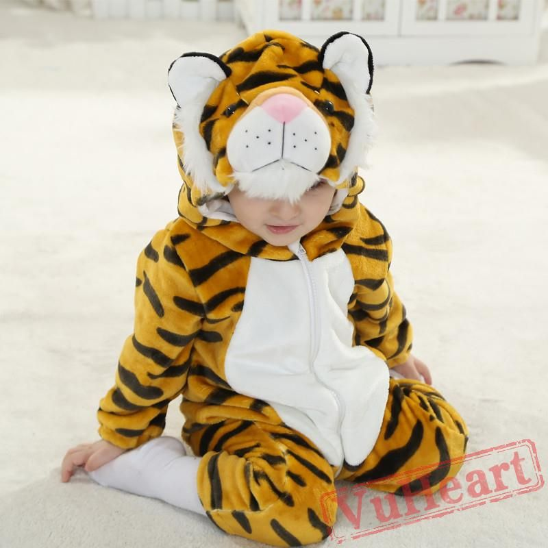Cute Baby Onesie Tigger Birthday Halloween Romper Climb Cloth